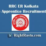 RRC ER Kolkata Trade Apprentice Recruitment 2020