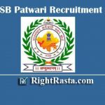 RSMSSB Patwari Recruitment 2020 | Apply Online Form For RSSB Patwar Vacancy (4421 Posts)