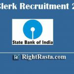 SBI Clerk Recruitment 2020 | Apply Online Form for SBI Junior Associate (JA) Online Form