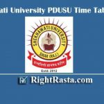 Shekhawati University PDUSU Time Table 2020 - Revised BA BSC BCOM Exam Dates @ www.shekhauni.ac.in