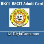 VMOU RKCL RSCIT Admit Card 2020 | Download ITGK RS-CIT 19 January Exam Permission Letter @ myrkcl.com