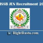 RSMSSB JEN Recruitment 2020 | Apply Online Form for Rajasthan Junior Engineer Vacancy (1098 Posts)