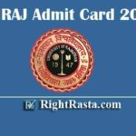 UNIRAJ Admit Card 2020 | Download Rajasthan Univerity UG PG Admit Cards @ univraj.org