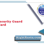 BARC Security Guard Admit Card 2021 (Out) | Download PET Hall Ticket