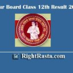 Bihar Board Class 12th Result 2020 | Download BSEB Inter Exam Results @ onlinebseb.in
