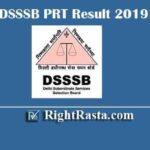 DSSSB PRT Result 2019 | Download 15/19 Assistant Teacher Primary ATP Exam Results 2020