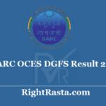 BARC OCES DGFS Result 2020 - Download Scientific Officer Exam Results Update @ barconlineexam.in