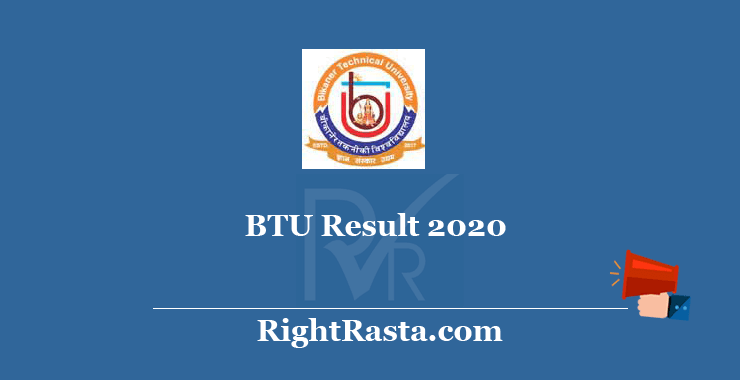 BTU Result 2020
