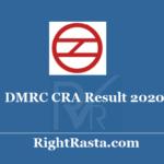 DMRC CRA Result 2020 - Download Delhi Metro Customer Relations Assistant Results Update