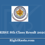 RBSE 8th Class Result 2020 - Download Rajasthan Board BSER VIII Exam Results @ rajresults.nic.in