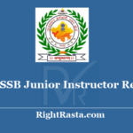 RSMSSB Junior Instructor Revised Result 2018 - Download RSSB Exam Results 2020
