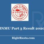 BNMU Part 3 Result 2020 - Download Bhupendra Narayan Mandal University Results 2019
