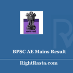 BPSC AE Mains Result 2019 - Download Bihar Assistant Engineer Main Exam Results