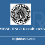 MBSE HSLC Result 2020 - Download Mizoram Board 10th Class Results @ mbse.edu.in