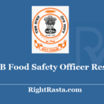 PSSSB Food Safety Officer Result 2020 - Download Punjab SSSB FSO Exam Results