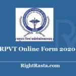 RAJUVAS RPVT Online Form 2020 - Date Extended for Rajasthan Pre Veterinary Test @ rajuvas.org