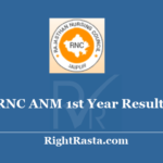 RNC ANM 1st Year Result 2020 - Download Rajasthan Nursing Council Jaipur First Year Exam Results @ rncjaipur.org