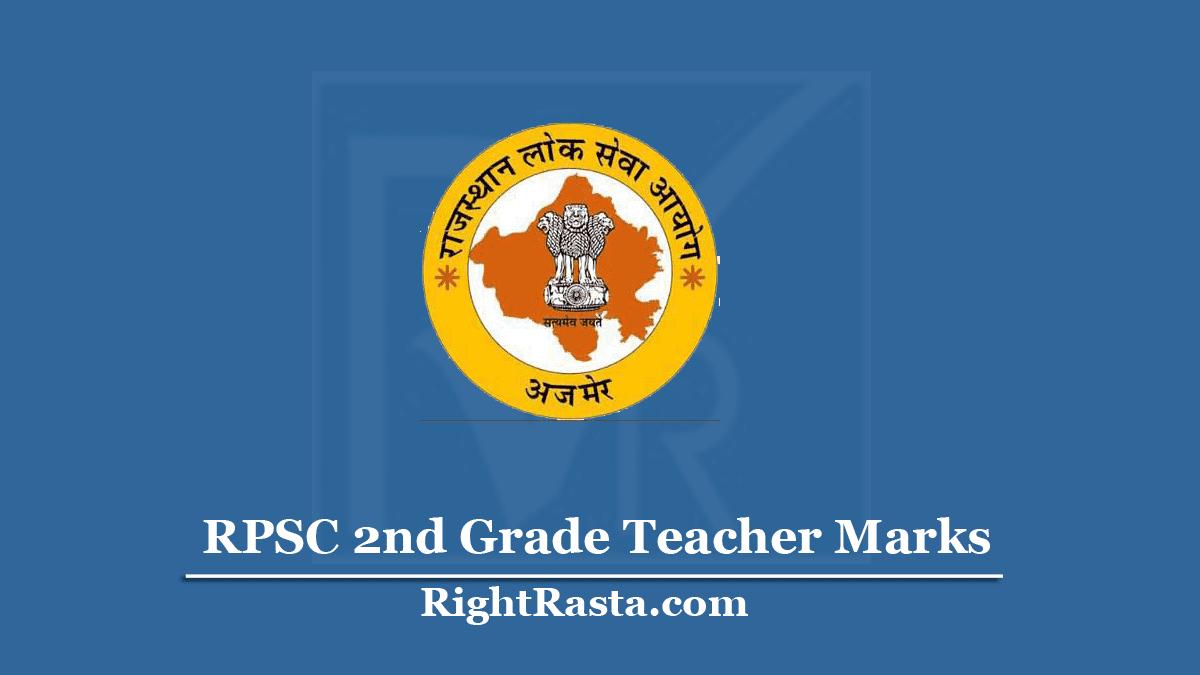 RPSC 2nd Grade Teacher Result