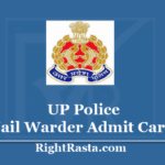 UP Police Jail Warder Admit Card 2020 - Check UPPBPB Exam Date