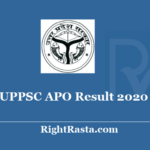 UPPSC APO Result 2020 - Download Assistant Prosecution Officer Prelims Exam Results