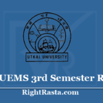 UUEMS 3rd Semester Result 2020 - Download Utkal University +3 BA BSC BCOM CBCS Results