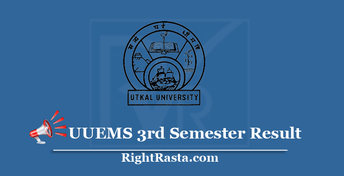 UUEMS 3rd Semester Result