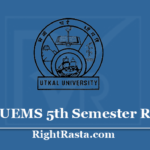 UUEMS 5th Semester Result 2020 - Download Utkal University +3 BA BSC BCOM CBCS Results