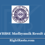 West Bengal WBBSE Madhyamik Result 2020 - Download WB Board 10th Results @ wbresults.nic.in