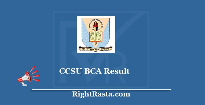 CCSU BCA Result
