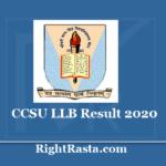 CCSU BA LLB Result 2020 - Chaudhary Charan Singh University CCS results @ ccsuniversity.ac.in