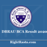 DBRAU BCA Result 2020 - Dr. BR Ambedkar University December Semester Exam Results 2019