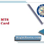 DRDO MTS Admit Card 2020 | Download CEPTAM Multi Tasking Staff Exam Date