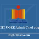 IIIT UGEE Admit Card 2020 - IIITH Hyderabad UG Exam Hall Ticket Date @ www.iiit.ac.in