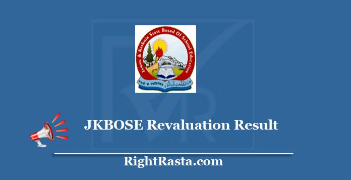 JKBOSE Revaluation Result