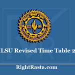MLSU Revised Time Table 2020 - Mohanlal Sukhadia University New Exam Dates