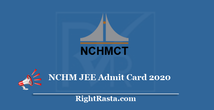 nchm.nic.in JEE Admit Card