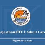 Rajasthan PTET Admit Card 2020 - Check Pre B.Ed Entrance Exam Updates @ ptetdcb2020.com