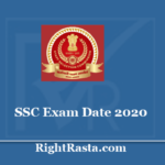 SSC Exam Date 2020 - Check CHSL, JE, Stenographer, CPO-SI, JHT, and CGL New Exam Schedule