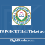 TS PGECET Hall Ticket 2020 | Download Telangana PGECET Admit Card