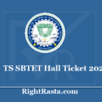TS SBTET Hall Ticket 2020 - Download State Board Telangana Diploma Admit Card