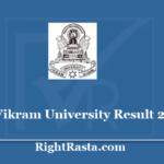 Vikram University Result 2020 - Download UG/PG Results @ www.vikramuniv.ac.in