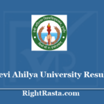 dauniv.ac.in Result 2020 - Devi Ahilya University DAVV BA BSc BCom BBA Sem Results