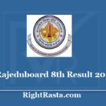 rajeduboard 8th Result 2020 - Check Raj Board 8 Class Results update
