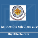rajresults.nic.in 8th Class Result 2020 - Download RBSE 8 Board Exam Results @ rajresults.nic.in