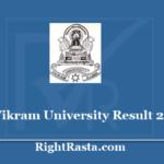 vikramuniresults.in Result 2020 - BA BSC BCOM BCA BBA BHC BHSC Annual Main & Semester Exam Results