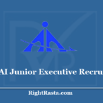 AAI Junior Executive Recruitment 2020- Apply Online Through GATE 2019
