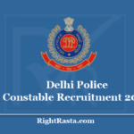 Delhi Police Constable Recruitment 2020- Apply For SSC DP CT 5846 Vacancies