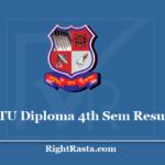 GTU Diploma 4th Sem Result 2020 - Gujarat Technological University DIPL Semester 4 Results