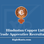 Hindustan Copper Ltd Trade Apprentice Recruitment 2020 - Apply Online For HCL Khetri Vacancy