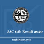 JAC 11th Result 2020 - Download Jharkhand Board Class 11 Results @ www.jac.nic.in